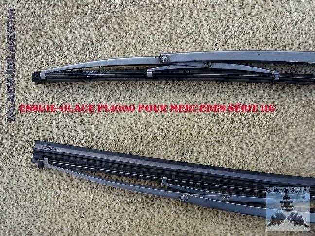 Essuie-glace poids lourds PL1000 pour Mercedes 280 série 116
